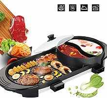 PAKASEPT Portable Electric Hot Pot Grill, Electric