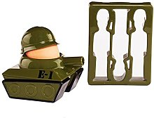 Paladone Splode Tank Egg Cup and Toast Cutter,
