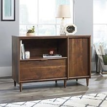 Palais Wooden Sideboard In Walnut With 1 Door And