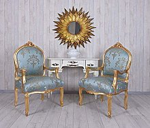 Palazzo Cat391a13 Fireplace Armchair Baroque Style