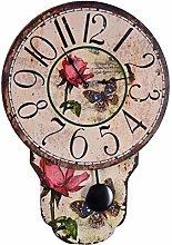 Palazzo Wall Clock Country House Style Pendulum