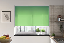 Palermo Fern Green Electric Roller Blind