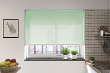 Palermo Misty Green Electric Roller Blind
