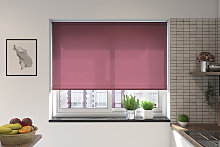 Palermo Mulberry Electric Roller Blind