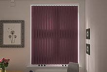 Palermo Mulberry Vertical Blind