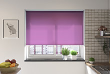 Palermo Plum Electric Roller Blind