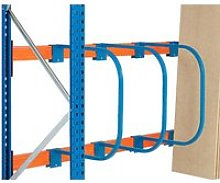 Pallet Racking D Bar Racks, Blue, Free Express