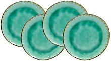 Palm Beach 6 Piece Porcelain China Dinnerware
