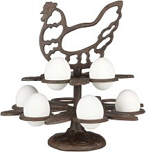 Palou Cast Iron Egg Stand Brambly Cottage