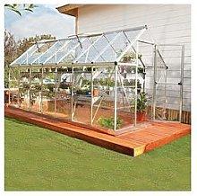 Palram Harmony 6 X 14Ft Greenhouse - Silver