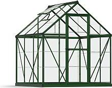 Palram Harmony Green Greenhouse - 6 x 6ft.