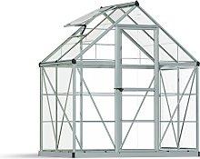 Palram Harmony Silver Greenhouse - 6 x 4ft.
