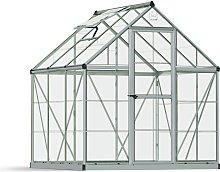 Palram Harmony Silver Greenhouse - 6 x 6ft.