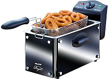 Palson Deep Fat Fryer in Luxury Black Glass Finish