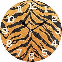 Pam9877ga Animal Tiger Stripes Black Orange