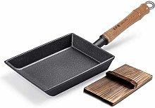 Pan/Japanese Omelette Rectangular Wooden lid,