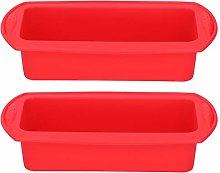 Pan Mold, Rectangle Heat Resistant Silicone Bread