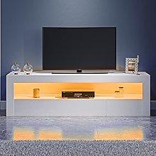Panana 120cm TV Stand 2Doors Storage TV Cabinet