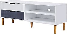 Panana 125cm TV Stand Cabinet Unit Wooden TV