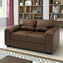 Panana 2 Seater Corner Sofa in Faux Leather Modern
