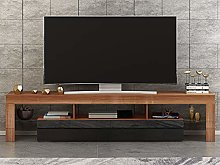 Panana 200 cm High Gloss Front RGB LED TV Stand