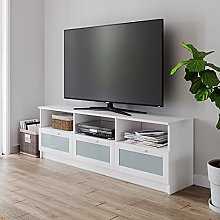 Panana 3 Drawer Wooden TV Stand Cabinet Unit 160cm