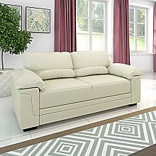 Panana 3 Seater Corner Sofa in Faux Leather Modern