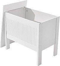 Panana Bathroom Cabinet Bench Storage Box Stool
