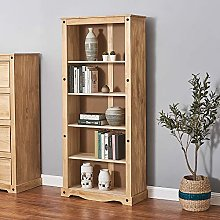 Panana Bookcase 5 Layer Large Display Stand Solid