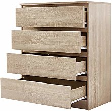 Panana Chest Of Drawers Sideboard Cabinet (4