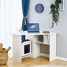 Panana Corner Computer Desk with Shelves Study
