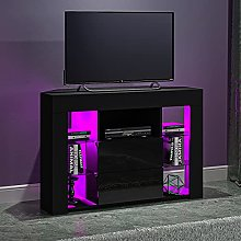 Panana Corner Sideboard TV Stand Cabinet With RGB
