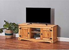 Panana Corona TV Stand Cabinet Unit Solid Pine