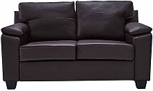 Panana Faux Leather 2 or 3 Seater Sofa Modern