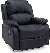 Panana Faux Leather Recliner Chair Electric Jumbo