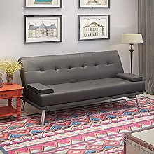 Panana Faux Leather Sofa Bed 2 to 3 Seater Modern