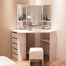 Panana Gilrs Corner Dressing Table White Makeup
