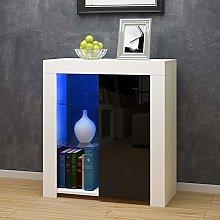 Panana High Gloss Sideboard Cupboard with LED