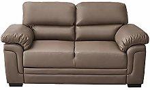 Panana Italian Style Faux Leather Sofa 2 Seater
