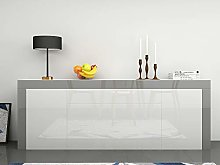 Panana Large Sideboard High Gloss Fronts Storage