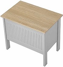 Panana Laundry Cabinet Wooden Storage Box Clothes