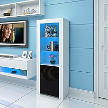 Panana LED Display Storage Cabinet 160cm Height