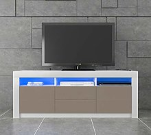 Panana LED TV Stand Cabinet Unit High Gloss Front
