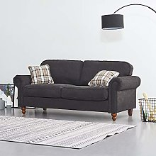 Panana Linen Fabric Sofas Corner Couch Settee with