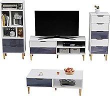 Panana Living Room Furniture Set 4 Piece Set High