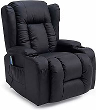 Panana Manual Recliner Chair Faux Leather Armchair