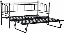 Panana Metal Single Day Bed Frame 3FT Single Guest