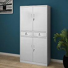 Panana Metal Storage Cupboard 4 Door Office Tall