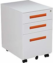 Panana Mobile File Cabinet with 3 Drawers Under