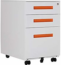 Panana Mobile Office Pedestal Filing Cabinet with